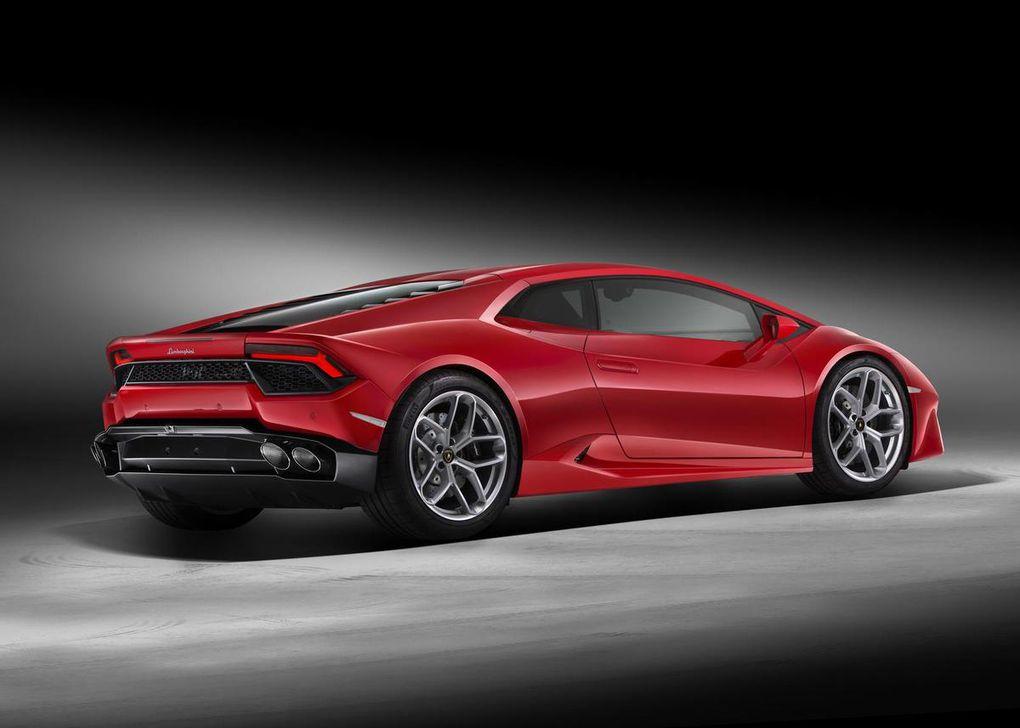 Lamborghini Huracán LP580-2: moins performante mais aussi moins chère!