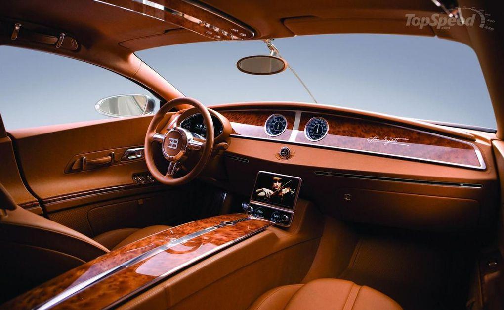 Bugatti 16C Galibier, un prototype présenté au salon de l'automobile de Genève en 2010