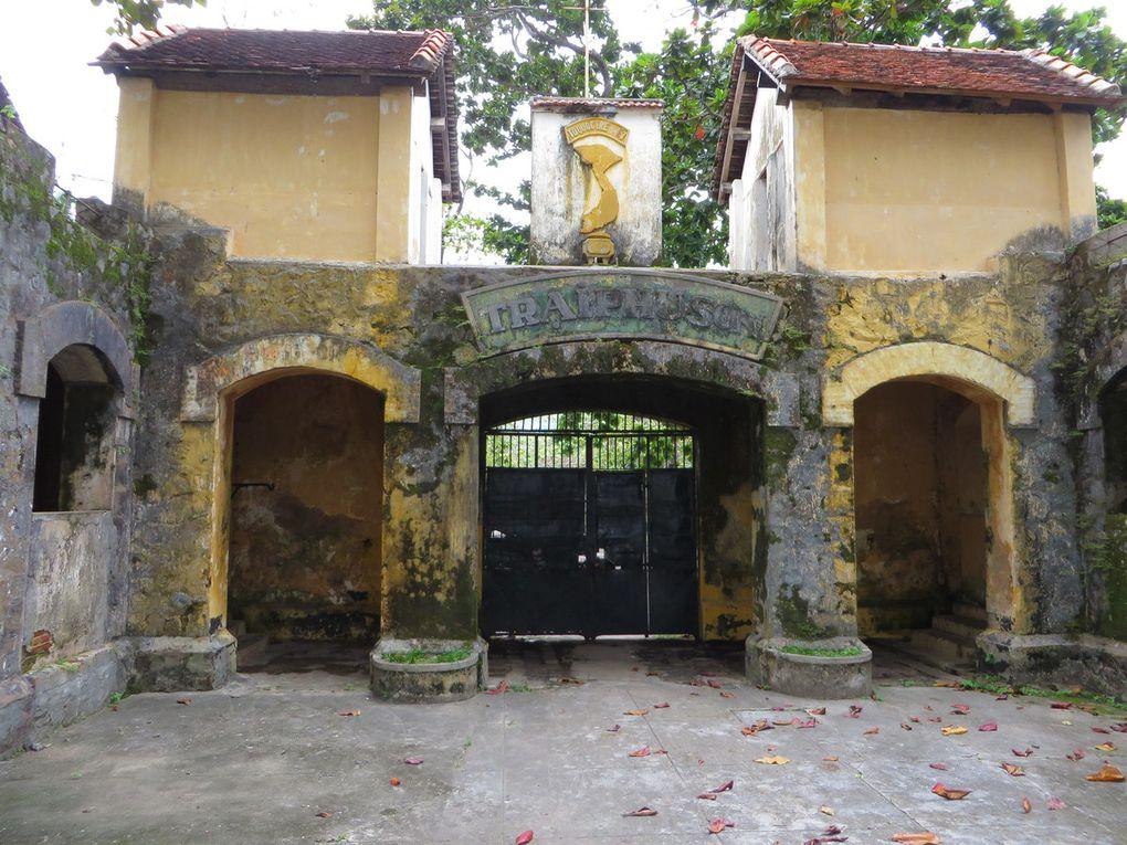Le bagne de CON SON, construit par les Français sur l'ile de CON DAO
