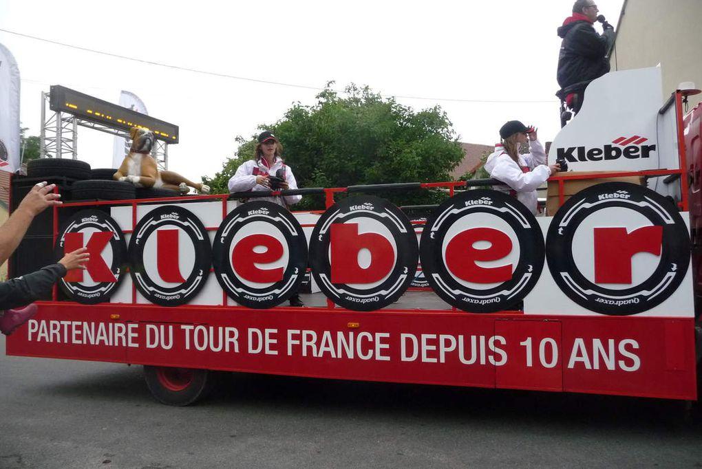 C'est fait, le Tour de France est passé par Roucy. (2ème partie. La caravane publicitaire)