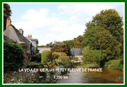 LA VEULES  LE PLUS PETIT FLEUVE DE FRANCE&#x3B;