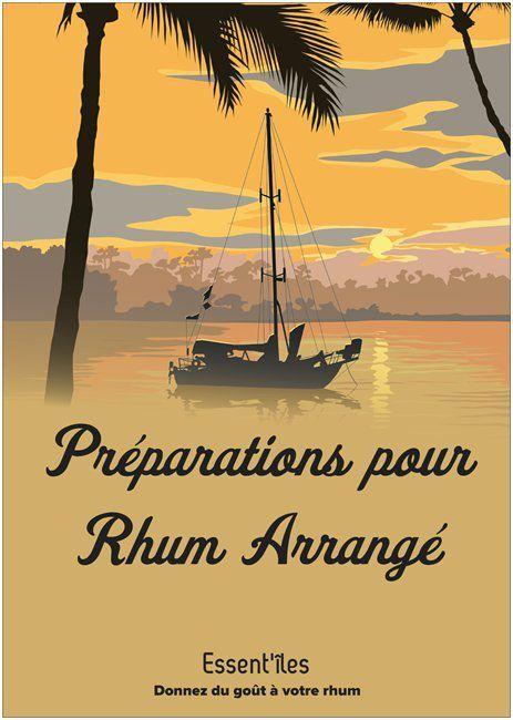 Préparation pour Rhum Arrangé - collection &quot&#x3B;les grands cocktails&quot&#x3B; : le Mojito Sueño