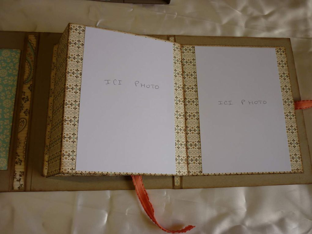 Un mini album avec le forum Scrap en papier