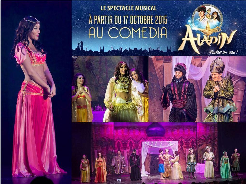 Anciens élèves du Studio International dans Aladin !