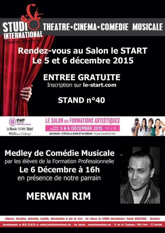 Le Studio International au salon START