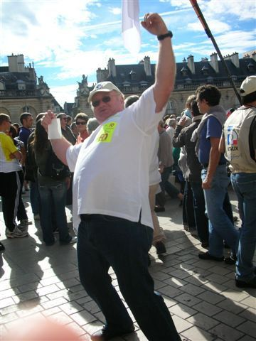 Manifestation à Dijon contre la réforme des retraites le 02 octobre 2010