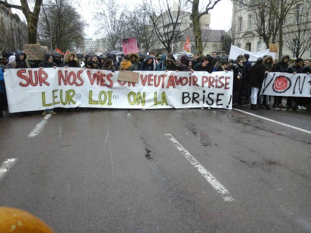 Manifestation du 9 mars 2016 à Dijon