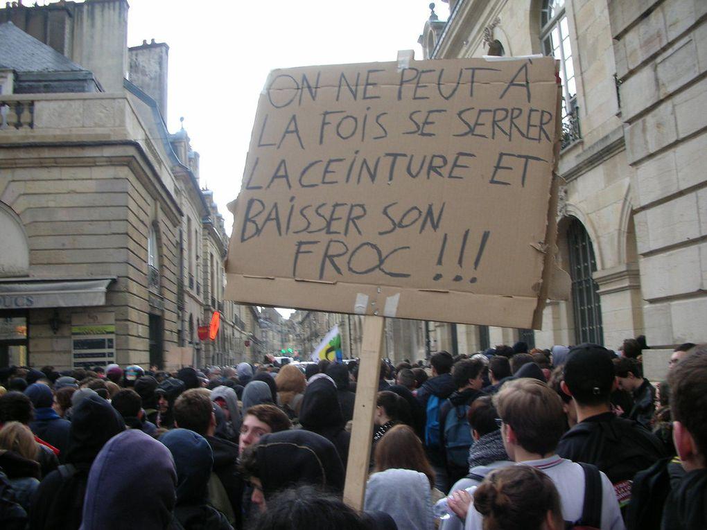 Manifestation du 31 mars 2016 à Dijon