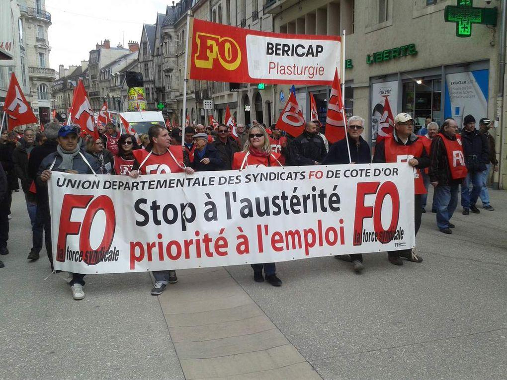 Manifestation du 28 avril 2016 à Dijon