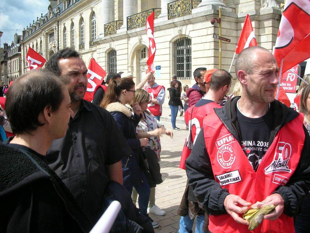 Manifestation du 17 mai 2016 à Dijon