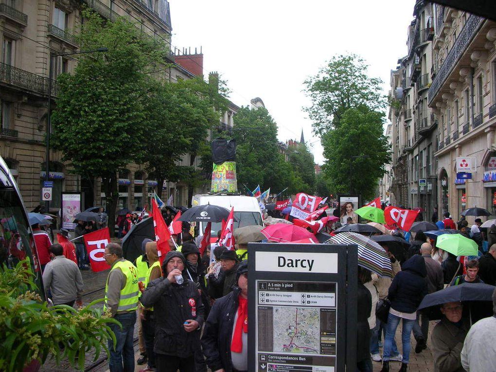 Manifestation du 19 mai 2016 à Dijon