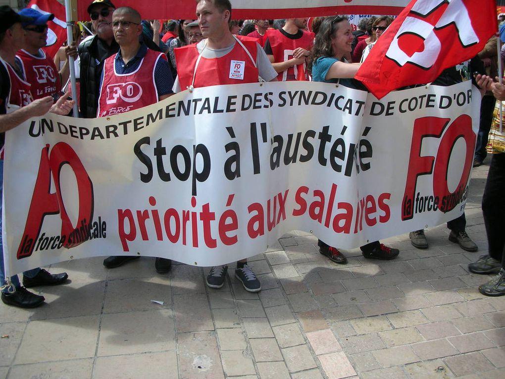 Manifestation du 26 mai 2016 à Dijon