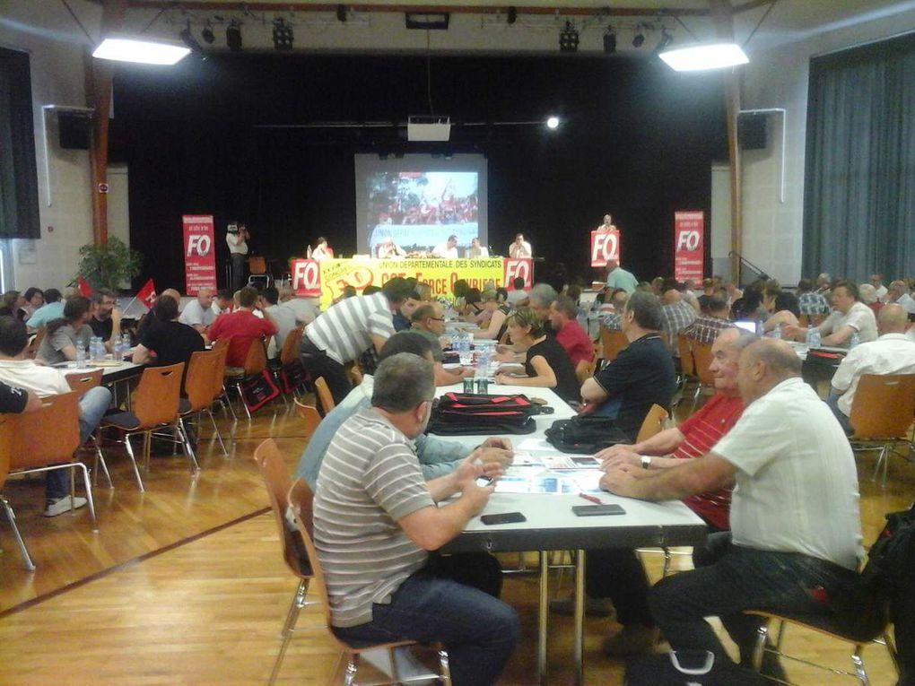 38ème CONGRES des Syndicats FO de Côte d'Or