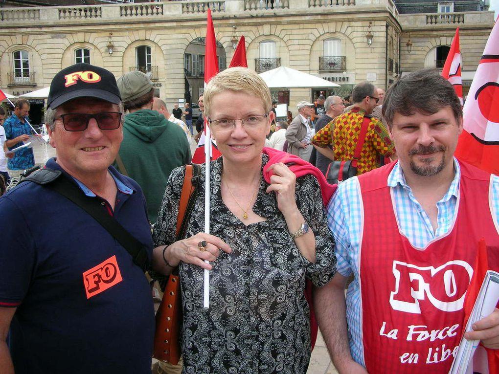 Manifestation du 28 juin 2016 à Dijon
