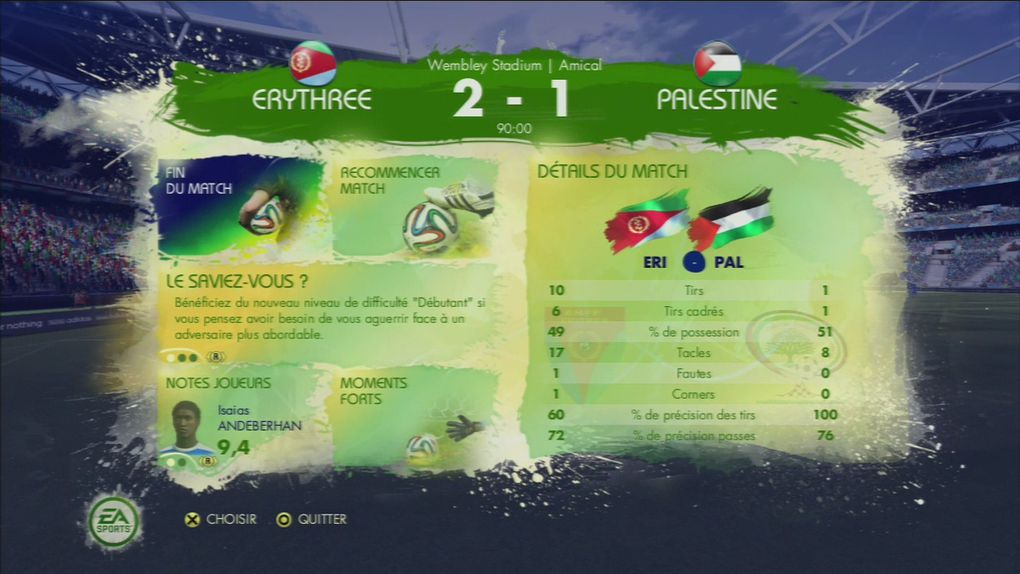 LE mode Road to world cup.