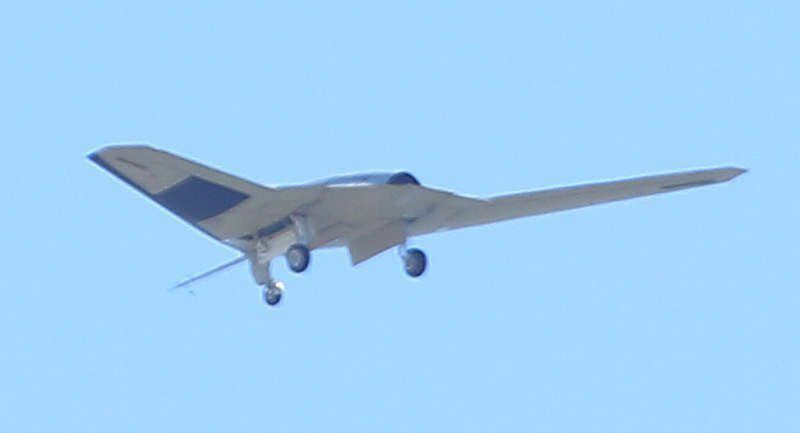"""The Beast of Kandahar"" resurfaces - #US RQ-170 #UAV in likely test config at Vandenberg AFB"