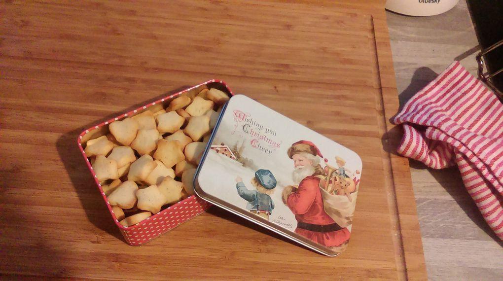 Des p'tits biscuits (manque que le chocolat chaud)