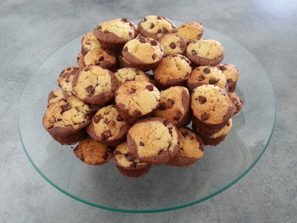 Browkies en format muffin ou bouchée