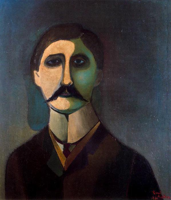 """""""Marcel Proust"""", Richard Lindner&#x3B; """"Marcel Proust"""", Rosemay"""