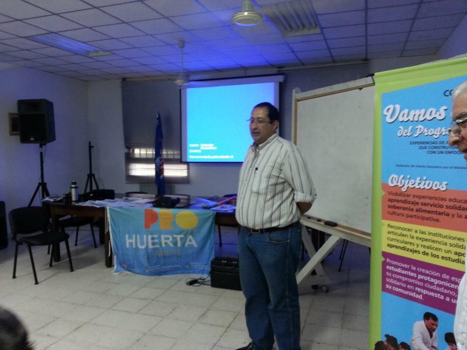 Pro-Huerta Chaco realizó el último taller del año sobre aprendizaje y servicio solidario