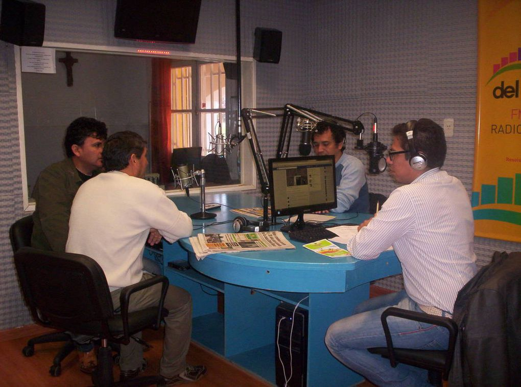 Fortaleciendo la FM escolar del paraje rural Tres Estacas