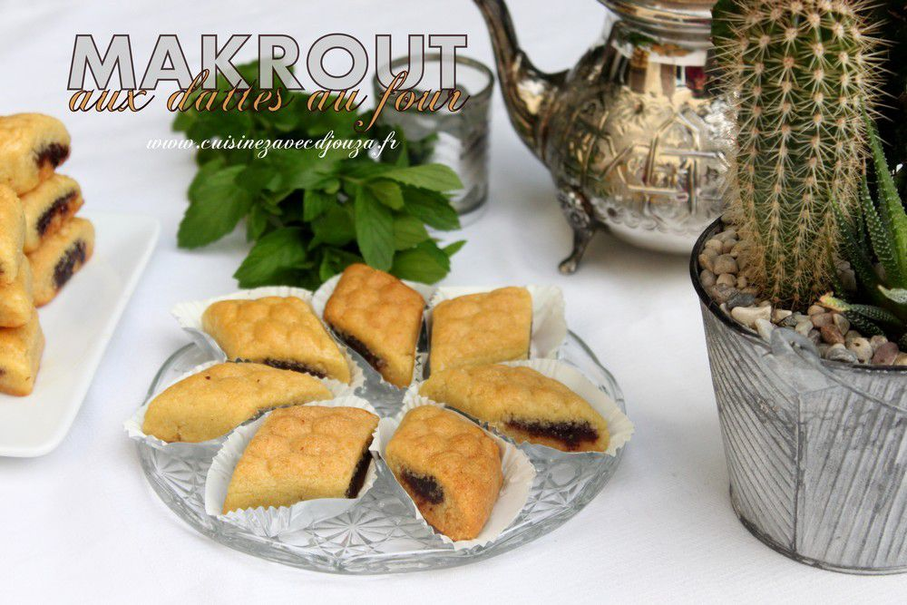 Video makrout au four gateau algerien