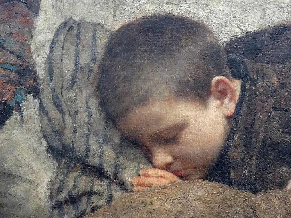 Fernand PELEZ - &quot&#x3B;Sans asile&quot&#x3B; Petit Palais Paris - oct. 2015