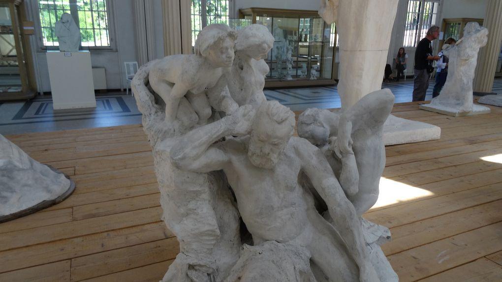 """Photos (sauf """"La Porte de l'enfer en bronze"""" et """"L'homme au nez cassé"""") M.Pellevillain"""