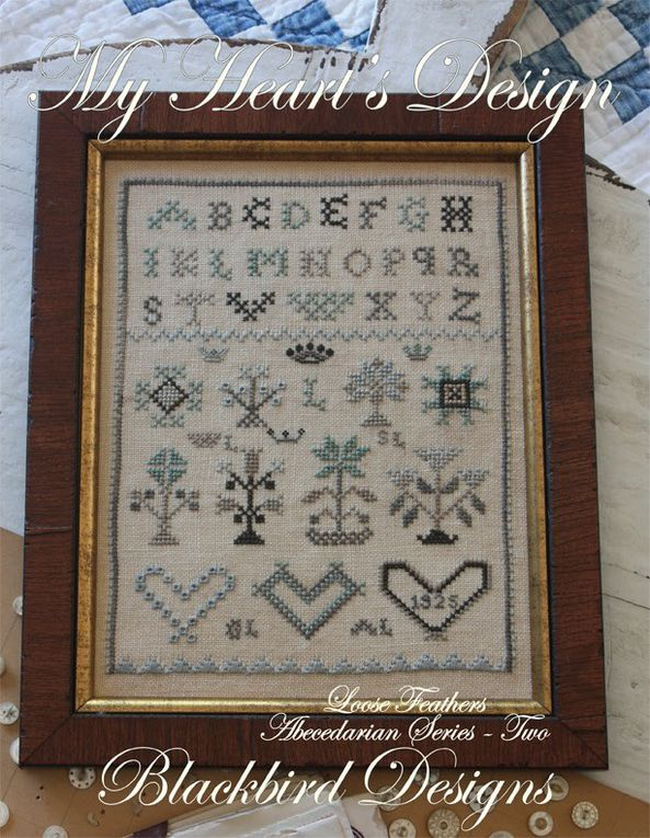 Garden Borders. Blackbird Designs. Abecedarian Series nº 12