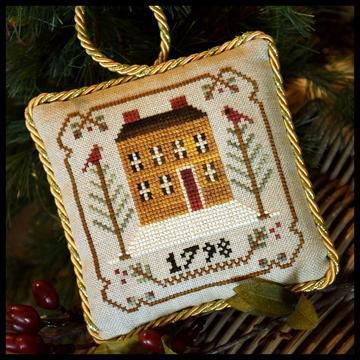 The Sampler Tree Ornaments series