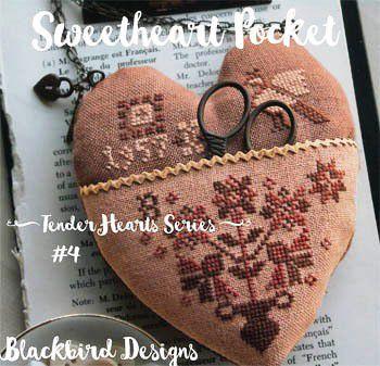 La Nueva colección de Blackbird Designs: Tender Hearts Series