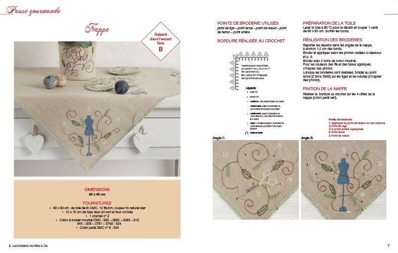 Les Broderies de Marie &amp&#x3B; Cie