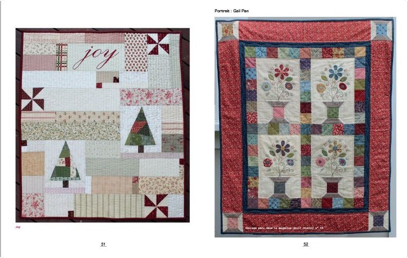 Ambiance Cocooning. Quilt Country nº 51