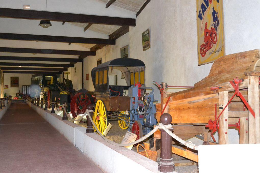 MUSEE DUFRESNES - collection de véhicules, machines et objets d'époque, véritable patrimoine mécanique de 1850 aux années 1950.