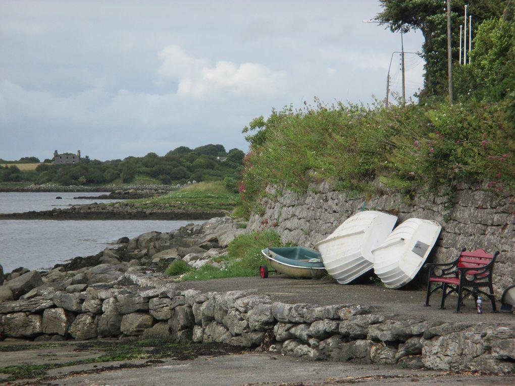 1- 2-3 Clonmacnoise  4-5 Galway 6-7-8 Village 9 et + Le Connemara puis Le Burren.