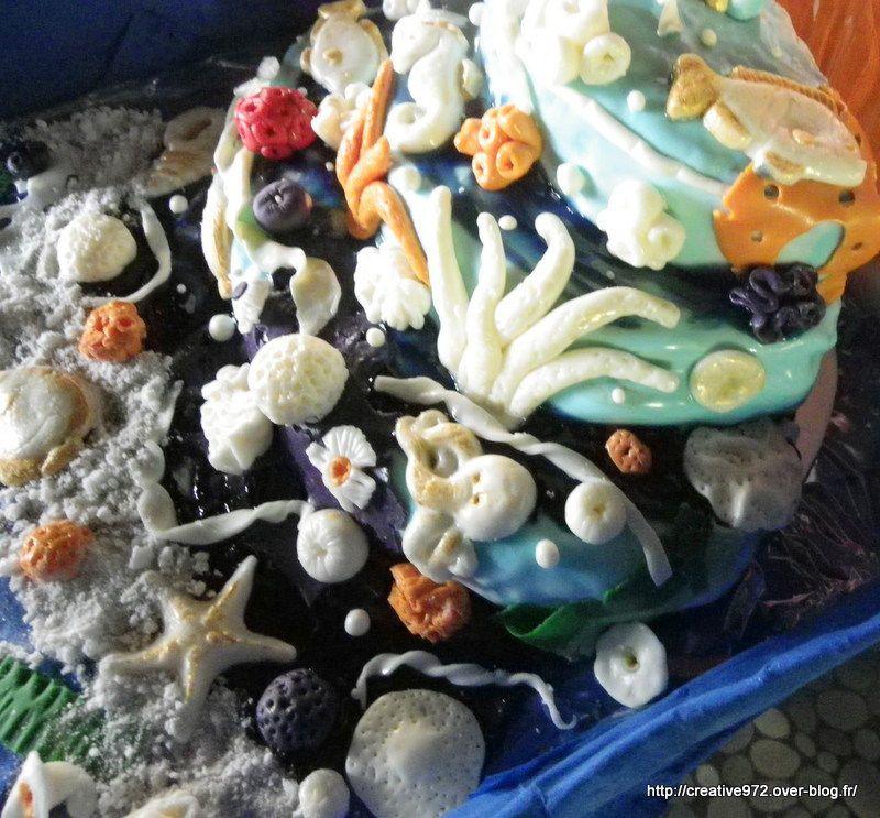 mon gâteau de la mer