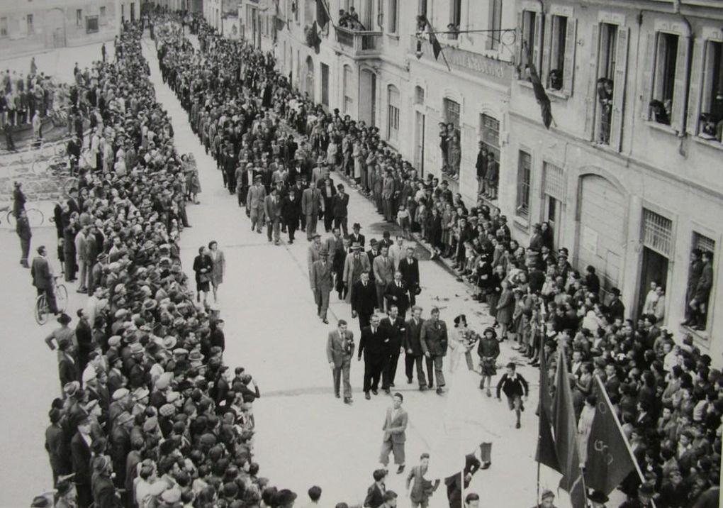 primo maggio 1945 a Lissone