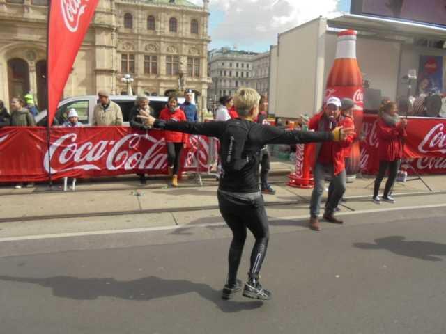 Theater der Emotionen - Wienmarathon am 23.April 2017