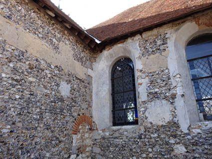 Les litres extérieures des églises de l'eure - France Poulain