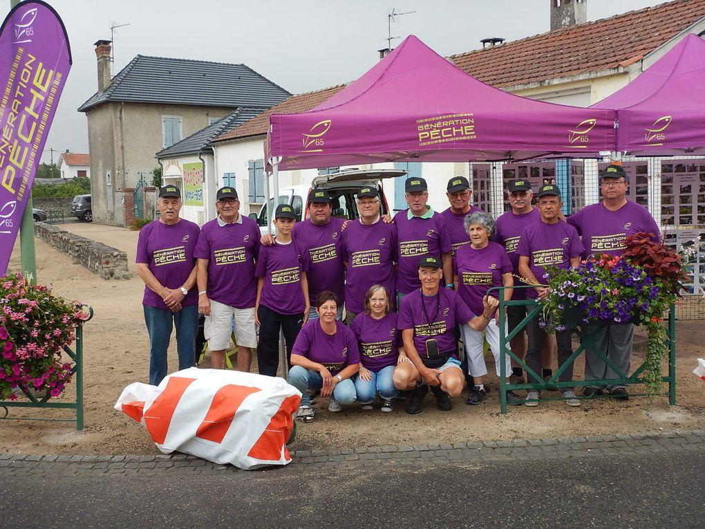 L'AAPPMA sur la route du tour de France à SOUES et ANERES.