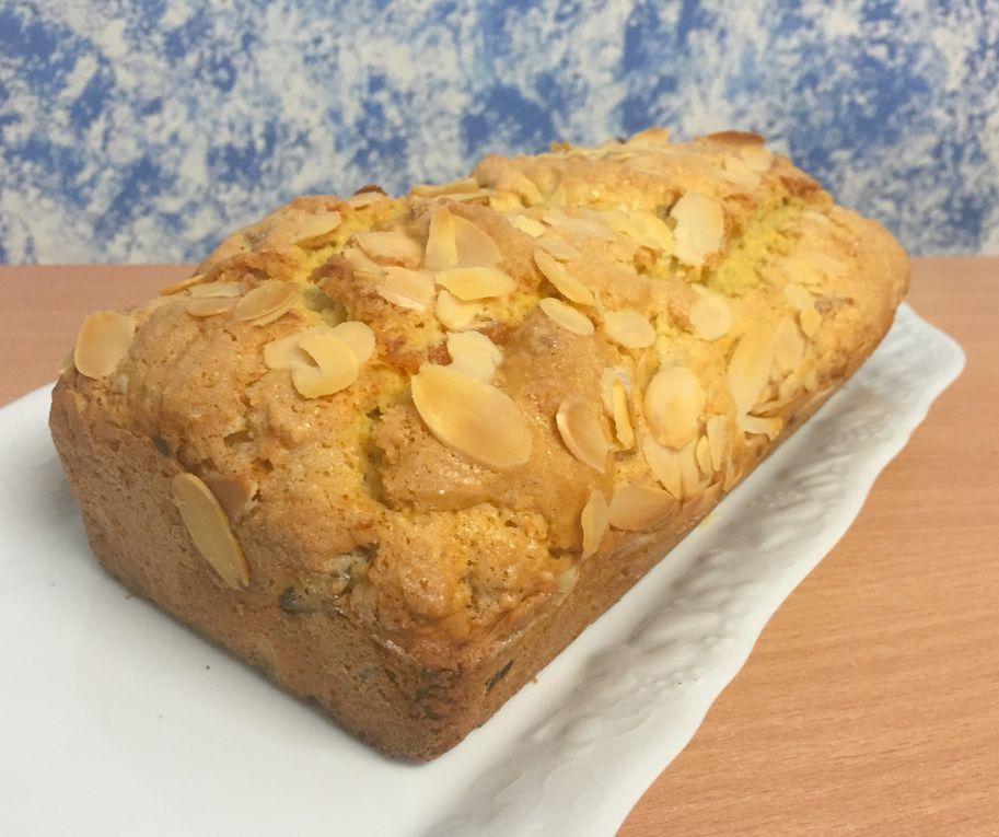 Gâteau amande abricots secs