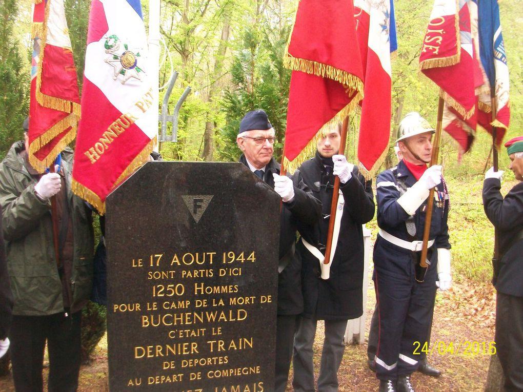 Commémorations à Compiègne