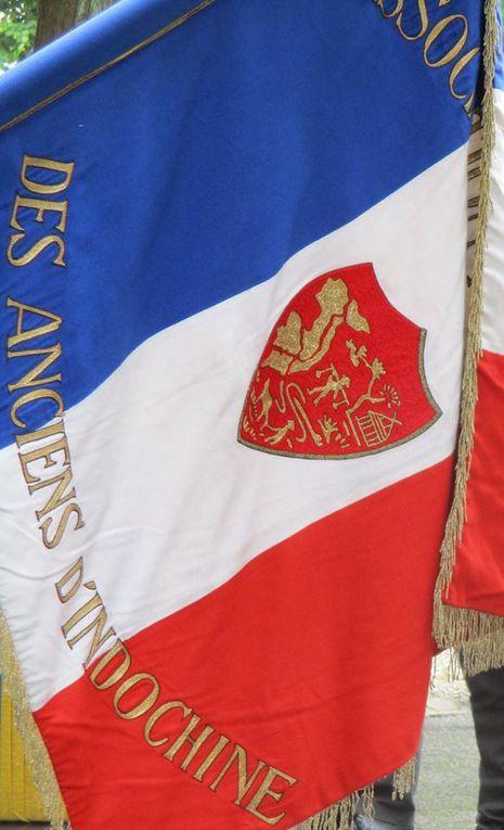 Hommage aux &quot&#x3B;Morts pour la France&quot&#x3B; en Indochine