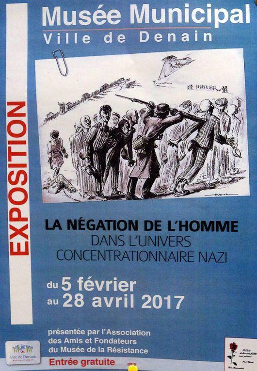 Exposition &quot&#x3B; La négation de l'Homme dans l'univers concentrationnaire nazi &quot&#x3B;