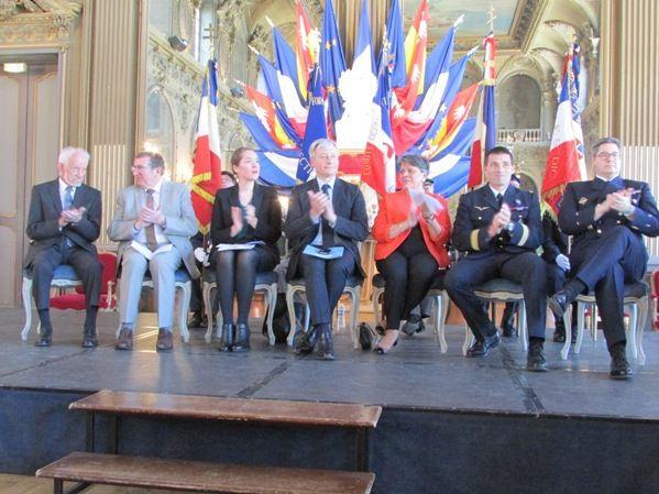 René Rhein, Déporté-Résistant, a reçu la Médaille d'Or de la Ville de Nancy