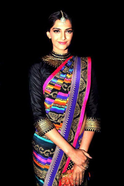 Sonam Kapoor ambassadrice du sari.