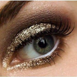Maquillages dorés