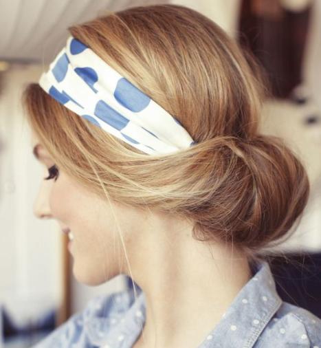 Idées de coiffures avec un foulard