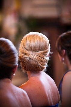 Chignons pour un mariage glamour