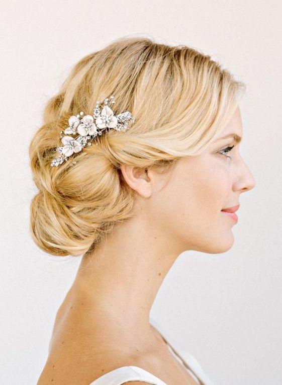 15 coiffures de mariage pour cheveux blonds